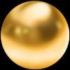 very garcia gold sphere