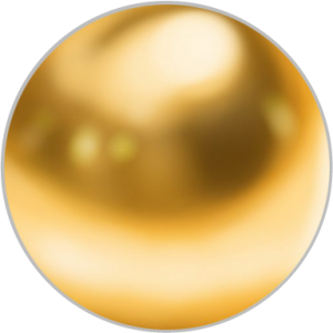 very garcia gold sphere