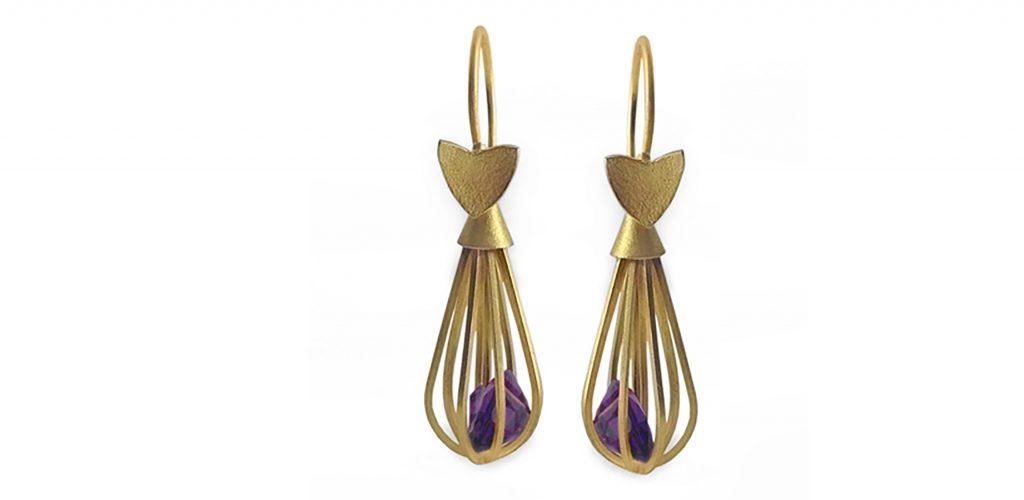 Very Garcia Gold refugio earrings